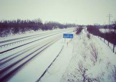 Viel Glück heute bei den Straßenverhältnissen ... Und Freitag dem 13.!!! #schnee #schneefoto #A31 #autobahn #freitag #freitagder13 #schneechaos #snow #snowphotography #schneefotografie