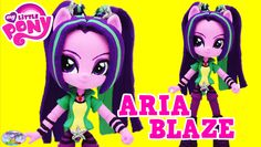 My Little Pony Equestria Girls Minis Aria Blaze Doll Custom Surprise Egg...