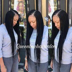 Big Braids, Braids For Kids, Girls Braids, Ghana Braids Hairstyles, African Hairstyles, Girl Hairstyles, Latest Hairstyles, Hairdos, Twisted Hair