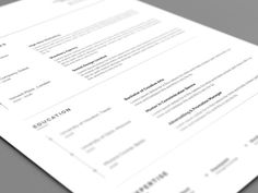 20+ Professional Resume Templates for Any Job [Download] Cover Letter Template, Letter Templates, Cv Simple, Simple Resume, Modern Resume Template, Creative Resume Templates, Student Resume Template, Resume Words, One Page Resume