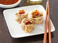 Steamed Pork-and-Mushroom Shumai Recipe : Food Network
