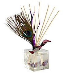 Pier 1 Peacock Reed Diffuser -my DIY inspiration Peacock Dining Room, Peacock Room, Peacock Theme, Purple Peacock, Diffuser Sticks, Colorful Feathers, Pier 1 Imports, Young Living Essential Oils, Room Themes