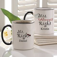 White Good Morning Coffee Mugs Set Zulilyfinds Weddings Pinterest