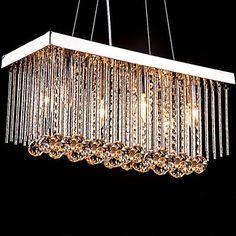 40w Moderno / Contemporáneo / Tradicional/Clásico Cristal Metal Lámparas Araña / Lámparas Colgantes / Montage de FlujoSala de estar / 2016 - $95.99
