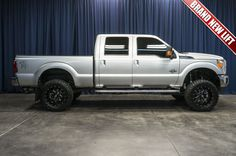LIFTED 2016 Ford F-350 Lariat 4x4 with BRAND NEW LIFT for sale at Northwest Motorsport. #PowerStroke #FordTruck #Ford #DieselTruck #LiftedTruck