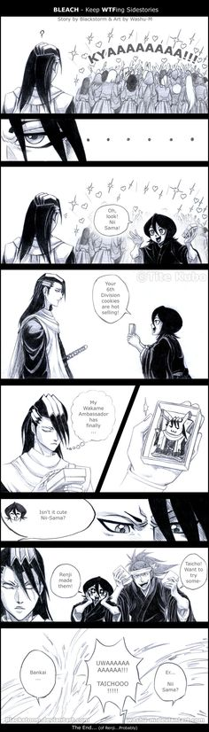 BLEACH - WTF Sidestory 8 by Washu-M on deviantART