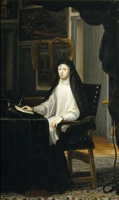 Juan Carreño de Miranda. La reina Mariana de Austria, 1670