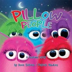 Pillow People Annie Sullivan Patrick Hawkins 1st Anglais 24 pages Broche Book