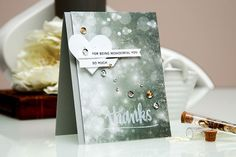 Gorgeous card by Yana using the January 2015 card kit by Simon Says Stamp