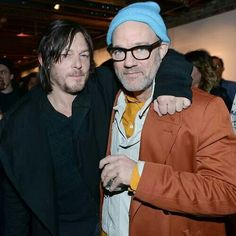 .Norman and Michael Stipe.