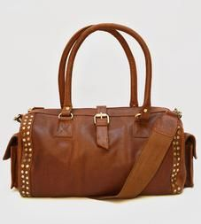 Scout Leather Duffle Bag