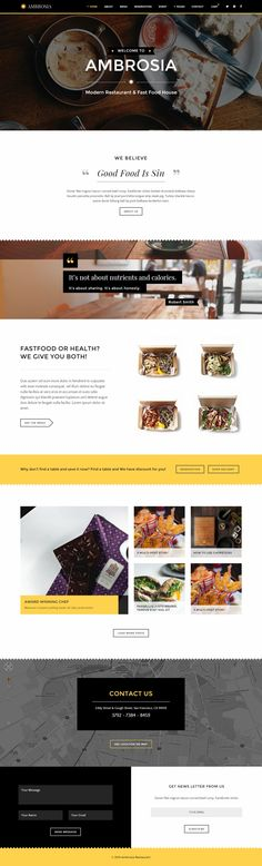 Ambrosia – Creative Restaurant Published by Maan Ali