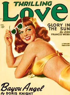 The green lenses on her shades are fantastic! #1940s #vintage