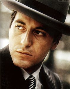 """Al Pacino for """"The Godfather"""", 1972"""