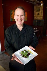 Orzo's roasted beet arugula salad with chevre recipe