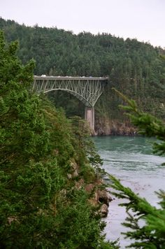 Deception Pass- I don't much like bridges, but this is beautiful!