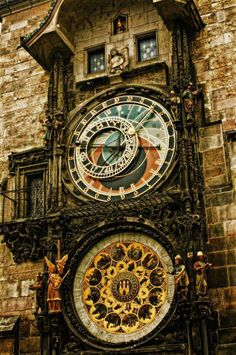 Astronomical Clock in The Old Town Square of Prague