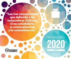 En nuestra investigación sobre #Workplace2020 con I´MPOSSIBLE University encontrarás insights como este sobre el #futuro de los lugares de trabajo. ¡Próximamente mas novedades! #WhitePaper #México