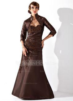 Mother+of+the+Bride+Dresses+-+$158.99+-+Mermaid+Sweetheart+Floor-Length+Taffeta+Mother+of+the+Bride+Dress+With+Ruffle+Lace+Beading+(008006561)+http://jenjenhouse.com/Mermaid-Sweetheart-Floor-Length-Taffeta-Mother-Of-The-Bride-Dress-With-Ruffle-Lace-Beading-008006561-g6561
