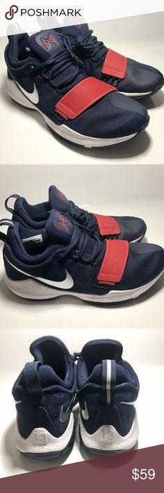 019d90ef378b Nike PG1 USA Paul George Olympic Men s SZ 11 Nike PG1 USA Paul George  Olympic Men s