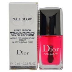 Dior Nail Glow Instant French Manicure Effect Whitening Nail Care by Christian Dior for Women - oz Nail Glow. Dior Nail Glow Instant French Manicure Effect Whitening Nail Care by Christian Dior for Women - oz Nail Glow. Dior Nail Glow, Dior Nails, Nail Whitening, New Hair Do, Nail Treatment, Beauty Shop, Natural Nails, How To Do Nails, Nail Care
