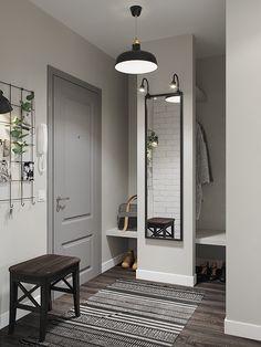 Ideas for apartment entryway decor Interior, Home, Bedroom Interior, Doors Interior, House Interior, Hallway Designs, Home Interior Design, Interior Design, Scandinavian Interior