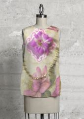 Purple beauty sleeveless top. What a beautiful product!