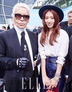 Park Shin Hye for Elle Korea October '15