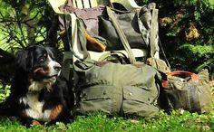 Reanimiert! Handtaschen aus ramponierten Barbour-Jacken.