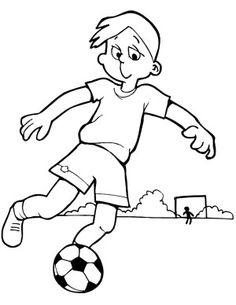 soccer coloring pages printable - Boy Coloring Pages To Print