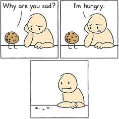 I'm hungry…