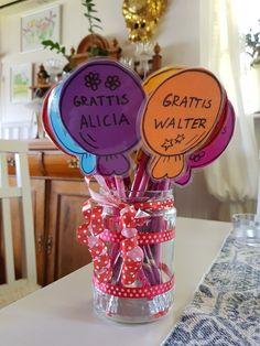 Födelsedagspresent till förskolebarnen.