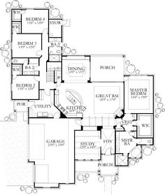 House Plan 3695-05 - The Laviron