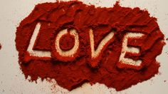 Young Adult Woman Erases LOVE Written in Red Chili Powder - Stock Footage | by ionescu #love #issue #valentines #stockfootage #pond5 #romance