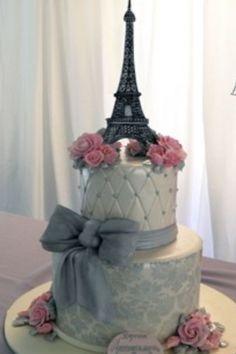 parisian cake decorating | Dream wedding cake, Paris cake
