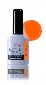 Vernis Semi-Permanent Neon Orange 10ml #vernissemipermanent #vernispermanent #geluv #geluvdiscount #ongles #nail #nailart #fauxongles #onglesparfaits #manucure #gelpolish