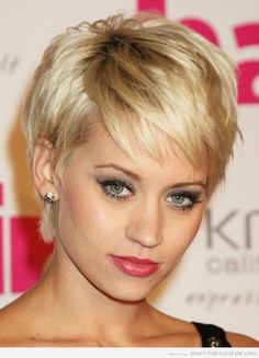 Short Hairstyles For Older Women with Long Faces cute