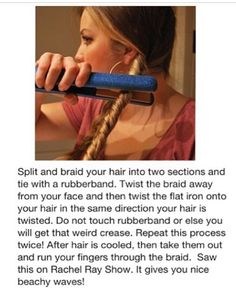 how to make easy curls/beachy waves . simple & cute ❤