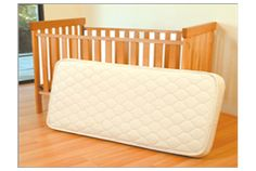 Organic Innerspring Crib Mattress by Eco Baby - Made with organic wool and no flame retardant.  A must for your new little bundle of joy!
