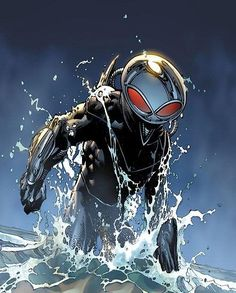 Black Manta Will Be the Villain in the Aquaman Movie Because of Course He Will Marvel Dc, Marvel Comics, Arte Dc Comics, Dc Heroes, Comic Book Heroes, Comic Books Art, Comic Art, Harley Quinn, Deathstroke