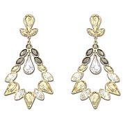 Alabaster Long Pierced Earrings