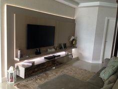 Sala TV, painel Alto brilho