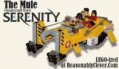 #serenity #firefly #lego