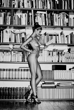 the librarian...