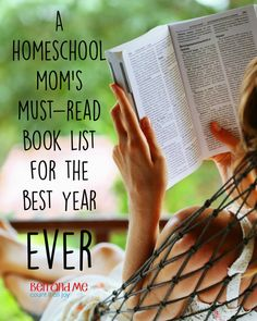 Books I'll be reading this year to help me achieve my goals as a wife and homeschool mom.