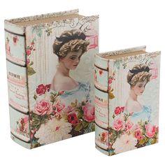 La Vie En Rose Set of 2 Boxes | ACHICA