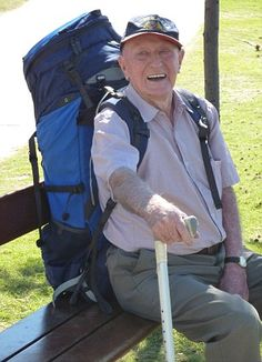 World's oldest backpacker plans two-month trip to Europe at 95 years old- He may be my inspiration!