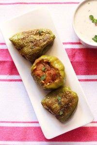 stuffed capsicum recipe, bharwan shimla mirch recipe