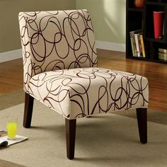 Furniture of America CM-AC6121 Springerville Accent Chair