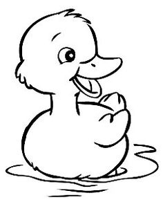 Duck Coloring Pages Free Baa Is For Batta Arabic